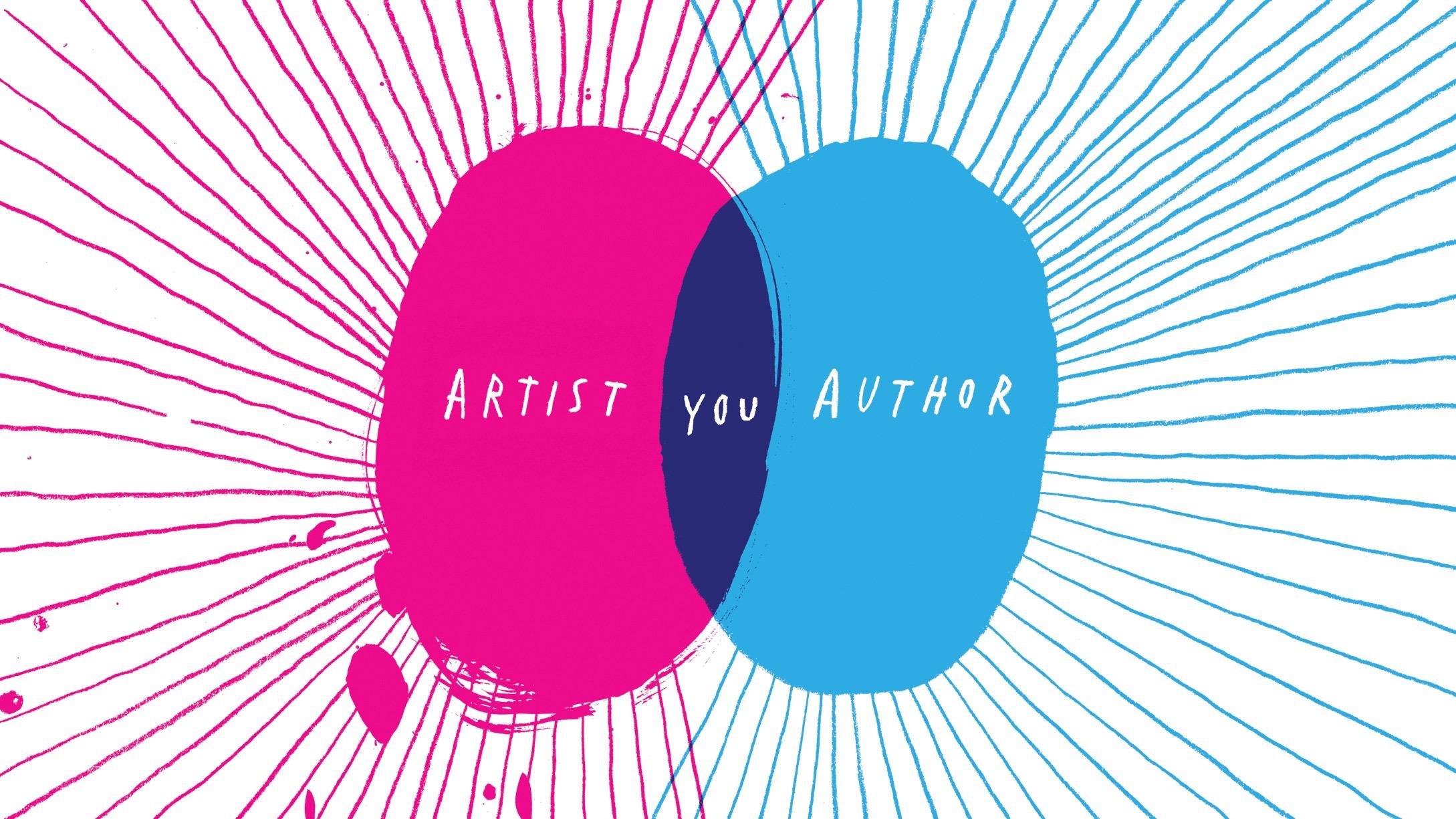 Illustration of Venn diagram: Artist, You, Author
