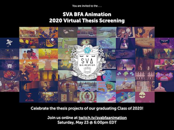 sva thesis animation