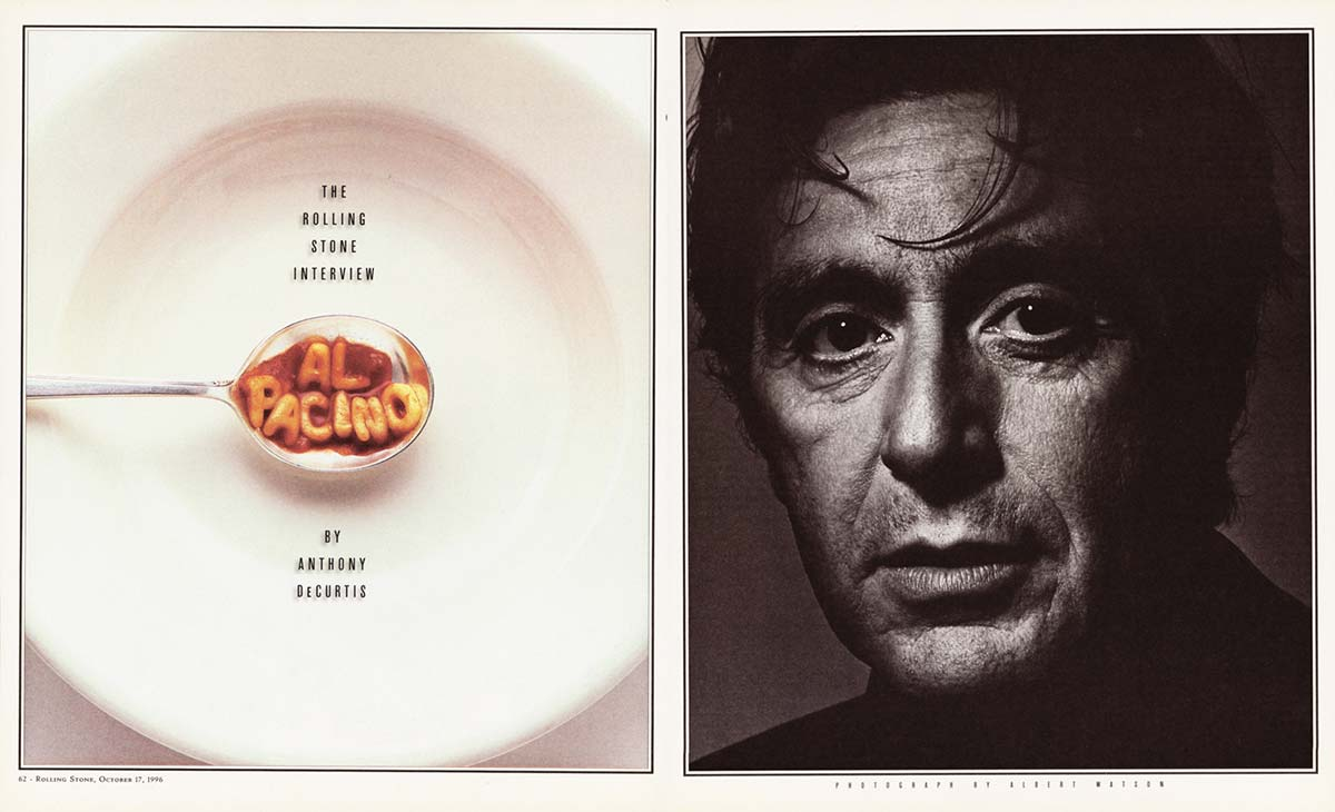 hi is a al pacino and olg mean photography