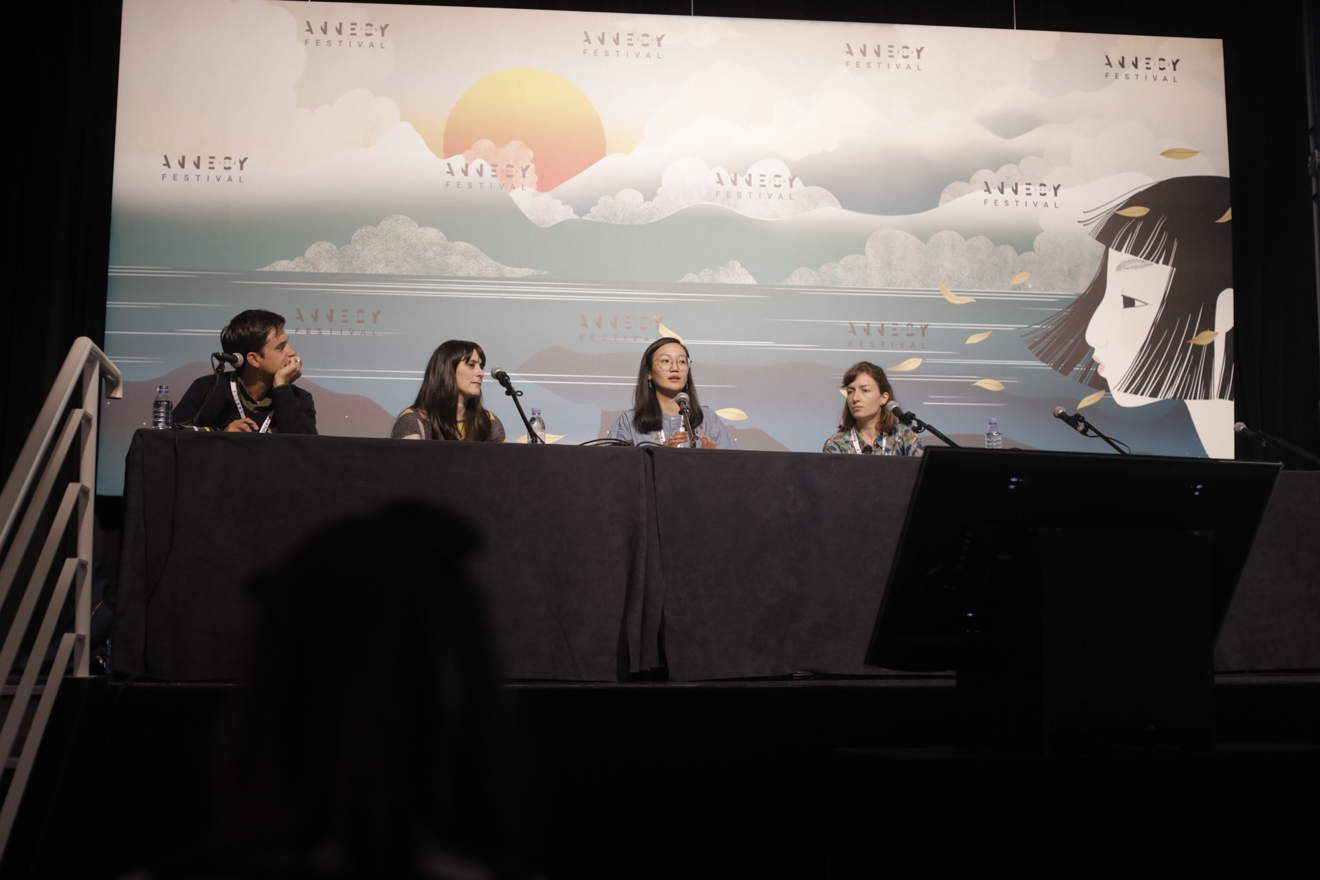An image of the WIA & LFA World Summit's Education Panel by Angelica Vergel