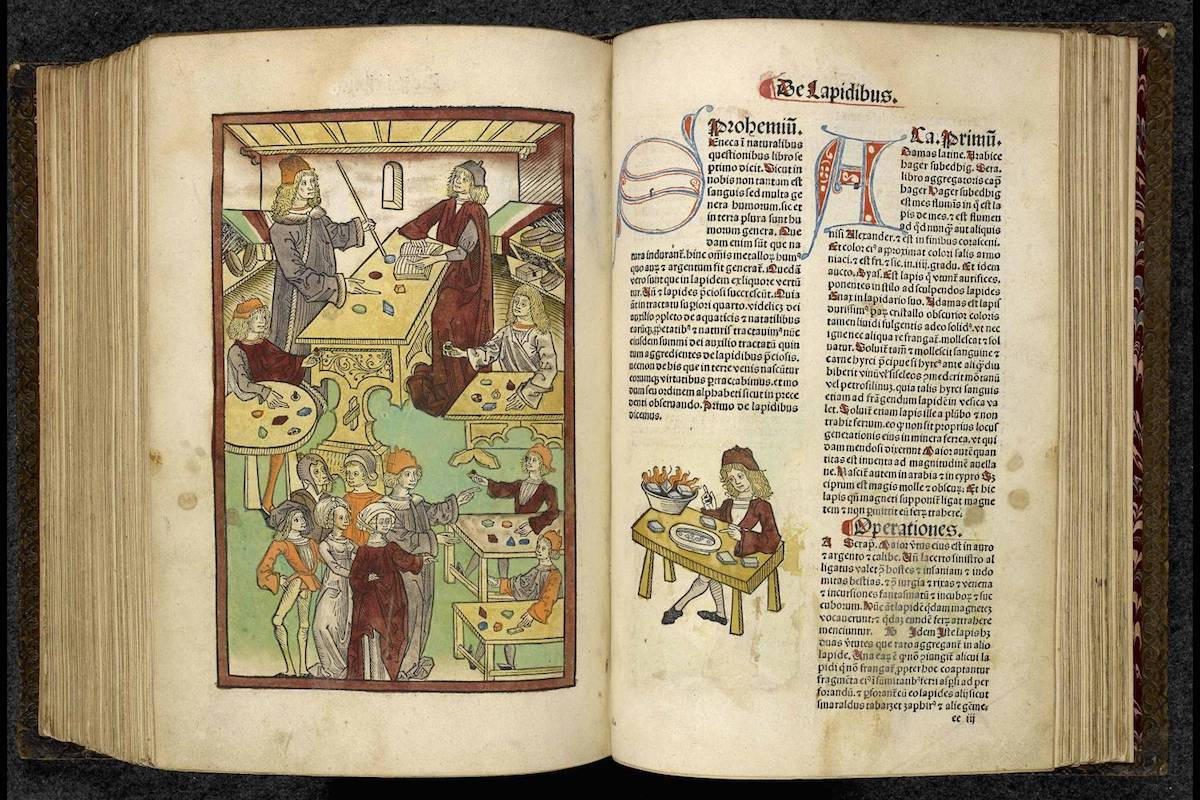 """<p """"="""""""">An illuminated manuscript from the Renaissance period.<span class=""""redactor-invisible-space""""></span>"""