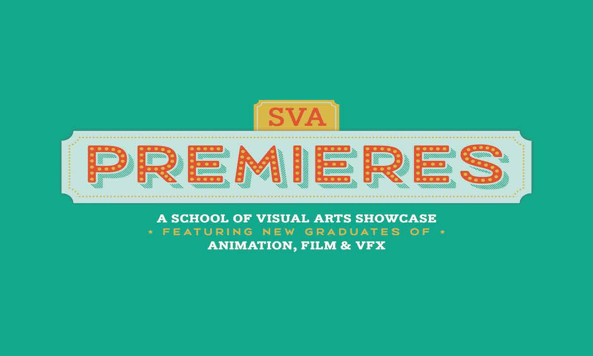 Poster for the 2018 SVA Premieres.