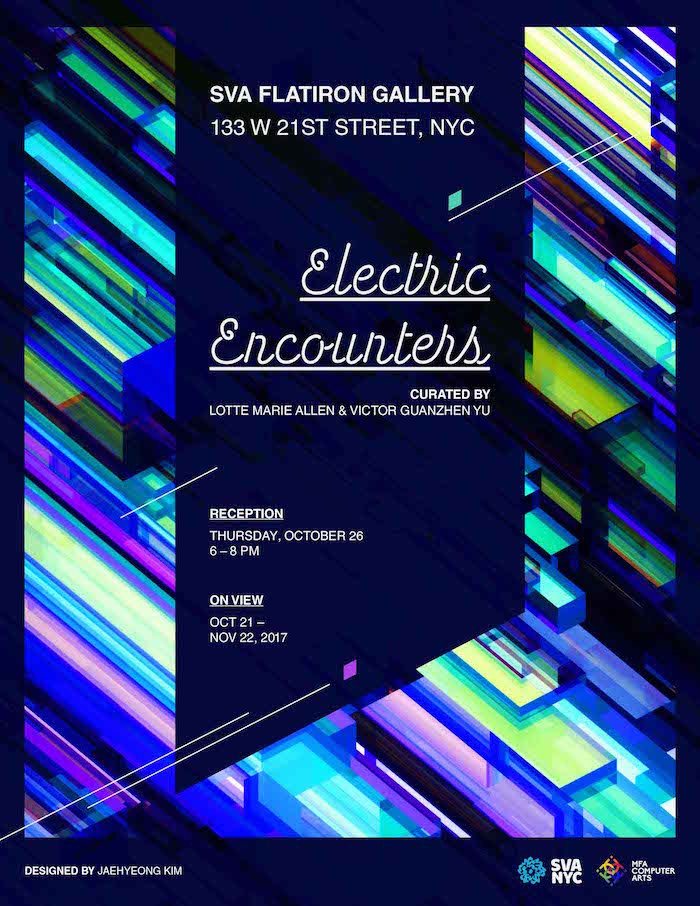 electric encounters meeting flyer