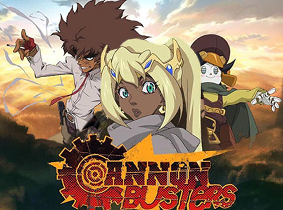 New anime tv show, Ammon Busters, coming soon!