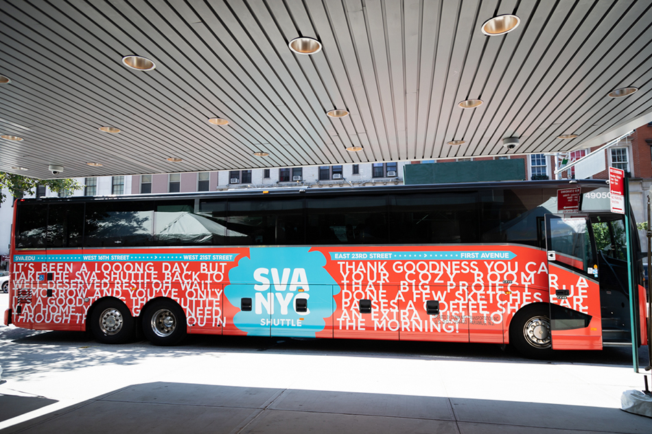"<p ""=""""><span class=""redactor-invisible-space"">A color photograph of a bus with an SVA logo and text-based design on its exterior.</span>"