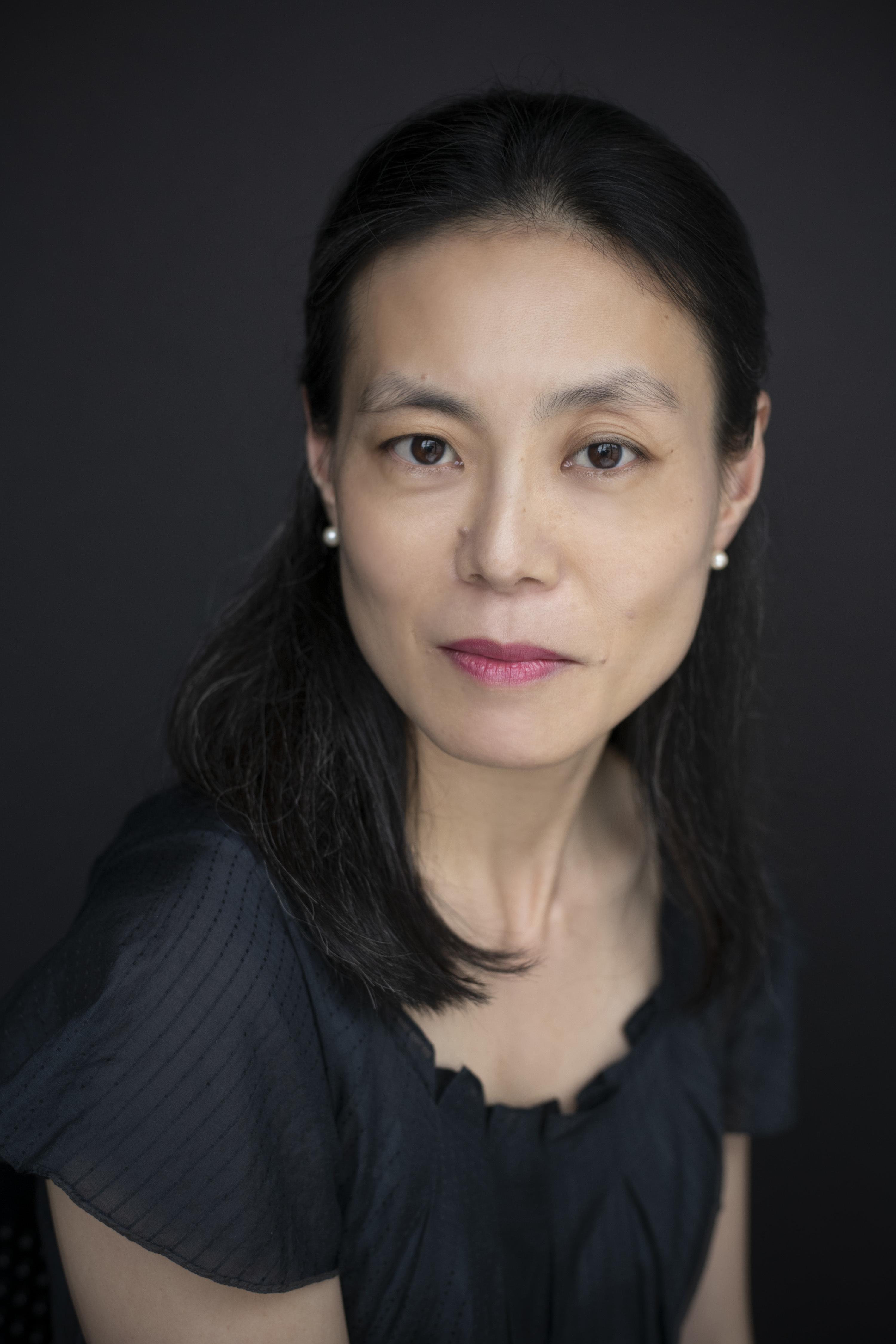 A color portrait of Kyoko Miyabe.