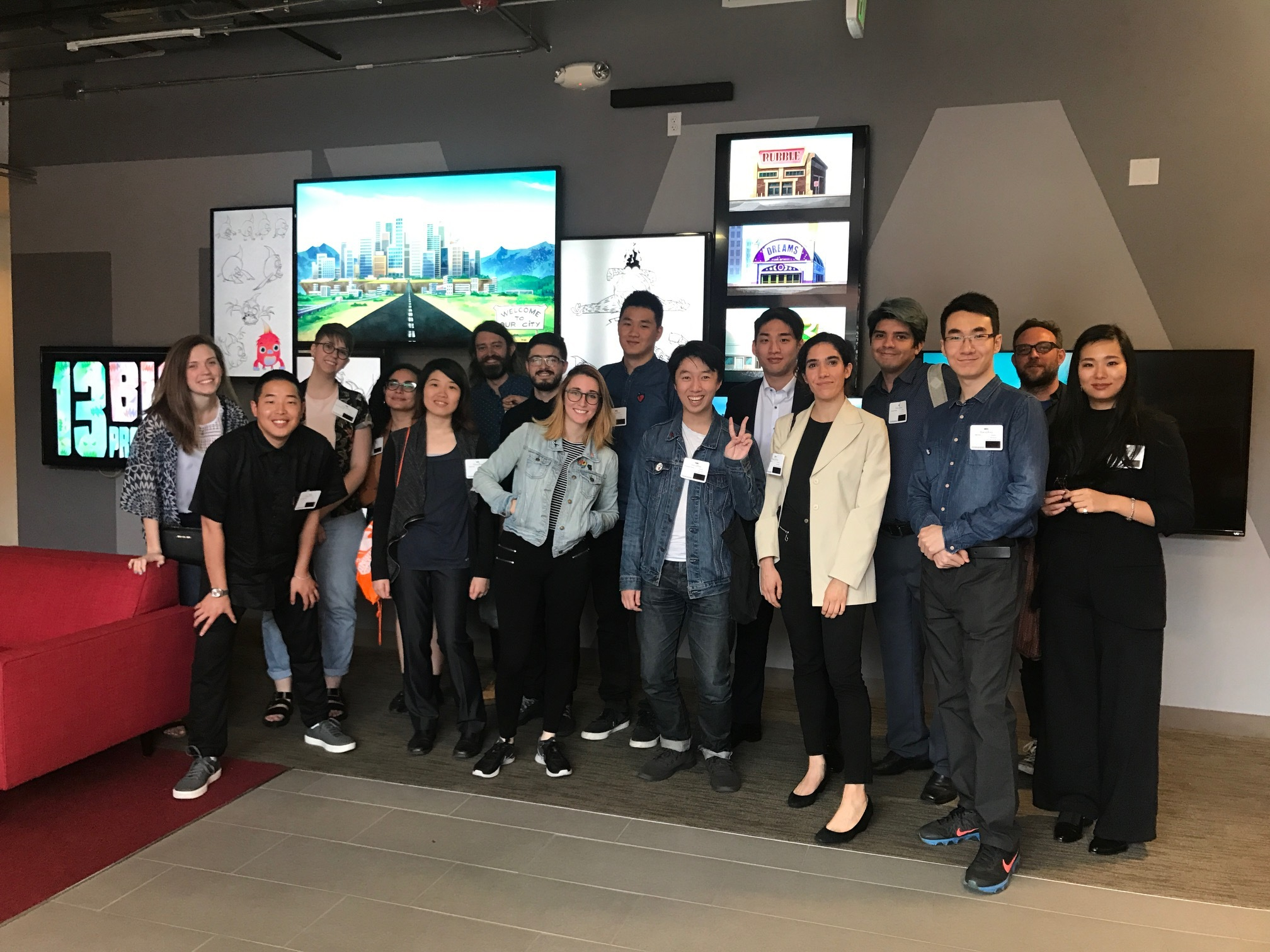 "<p ""="""">As part of SVA Premieres week, the participating alumni visited local animation and production studios to learn more about the industry."