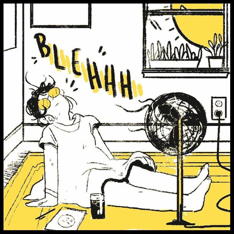 Gianna G. Meola (BFA 2014 Illustration), Too Hot
