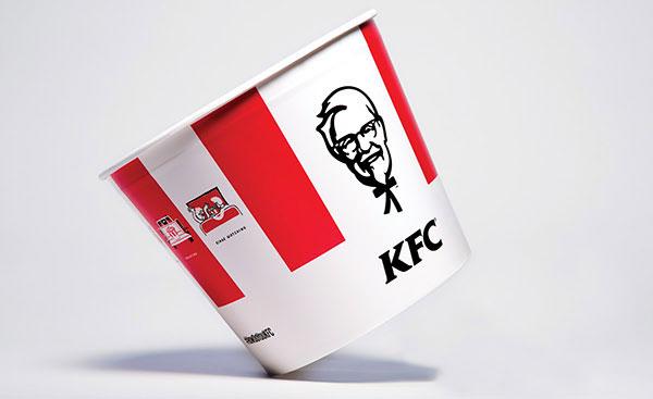 KFC bucket.