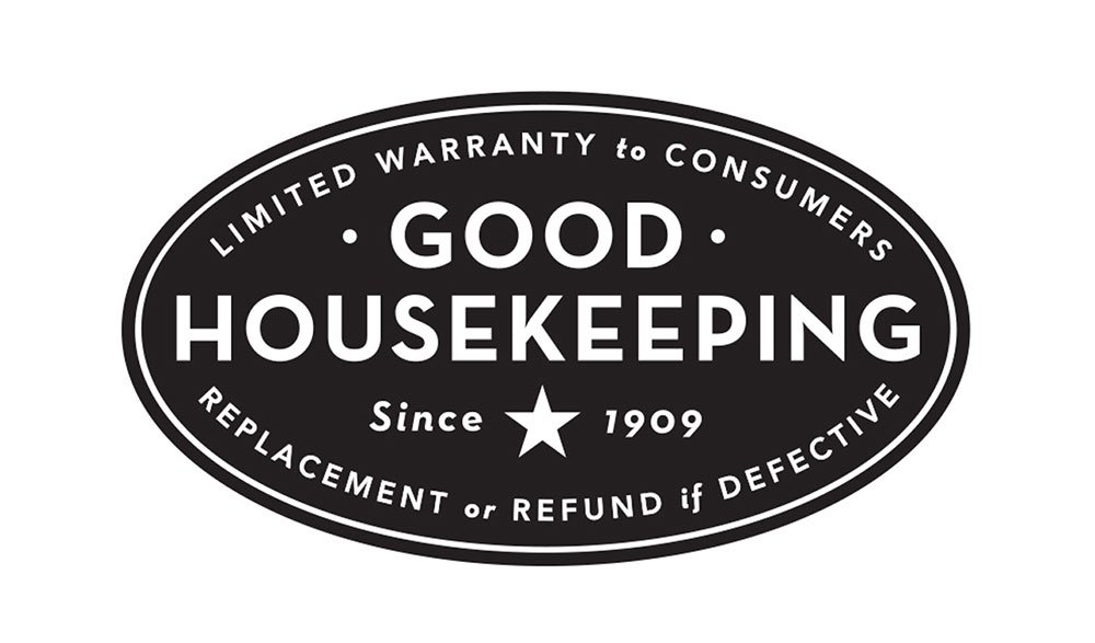 "The logo of a company called ""good housekeeping"""