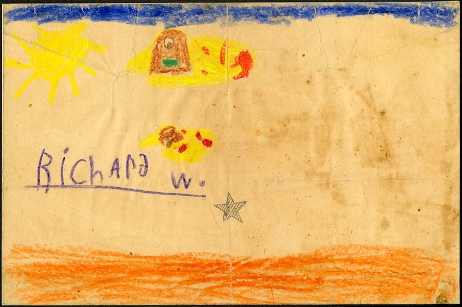 """Another of Wilde's childhood drawings<span class=""""redactor-invisible-space"""">.</span>"""