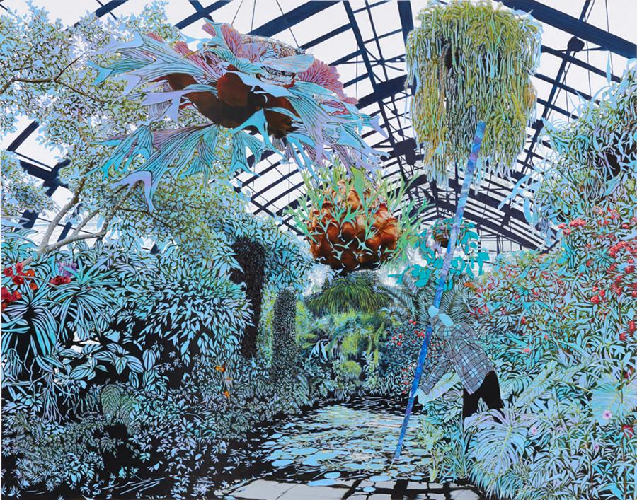 Greenhouse installation.