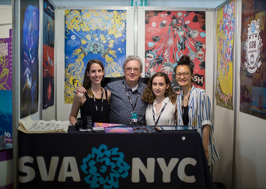 Group picture SVA NYC