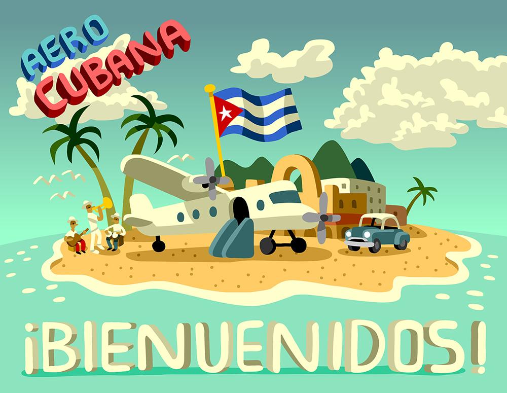 Vacation and visit Cuba