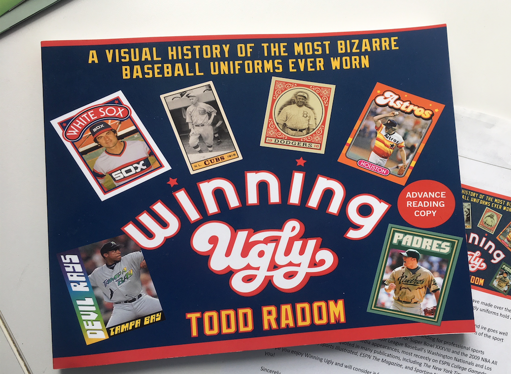 A photo of the book 'Winning Ugly' by Todd Radom.