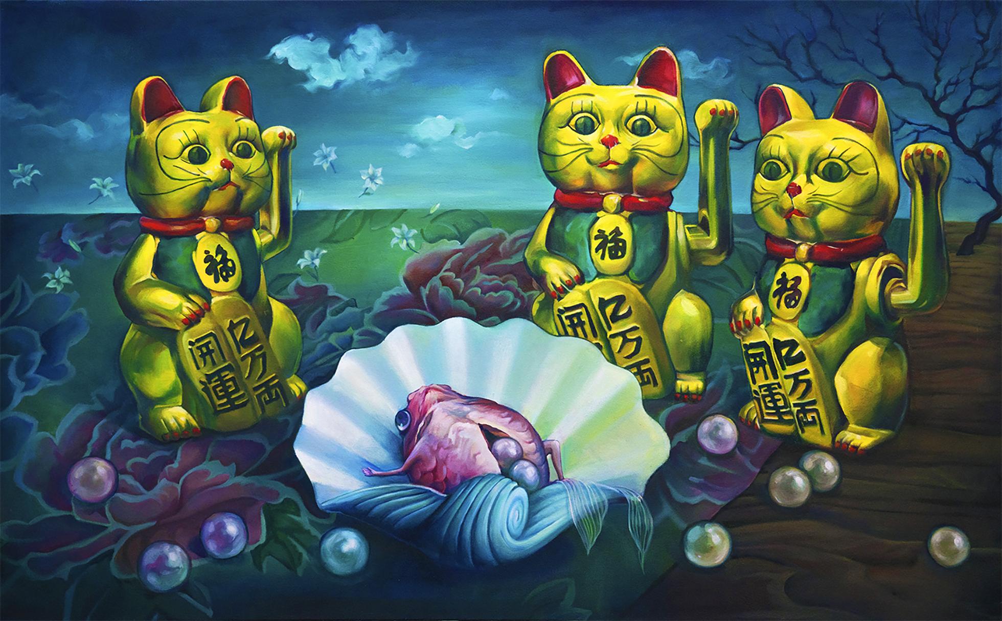 the arr of three cat