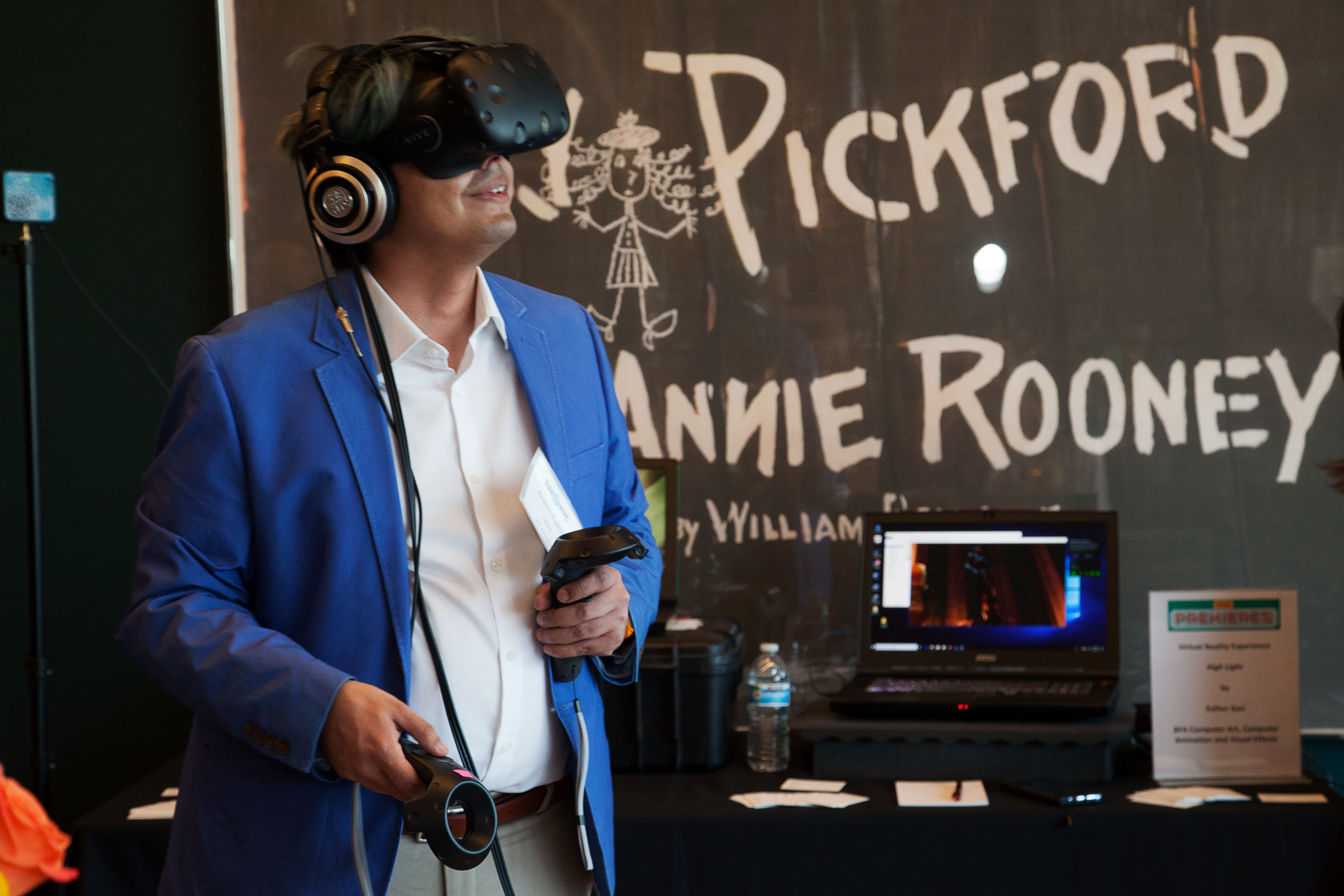 "<p ""="""">In addition to film and animation works, SVA Premieres featured two VR experiences created by members of the class of 2018, for guests to try out in the theater lobby."