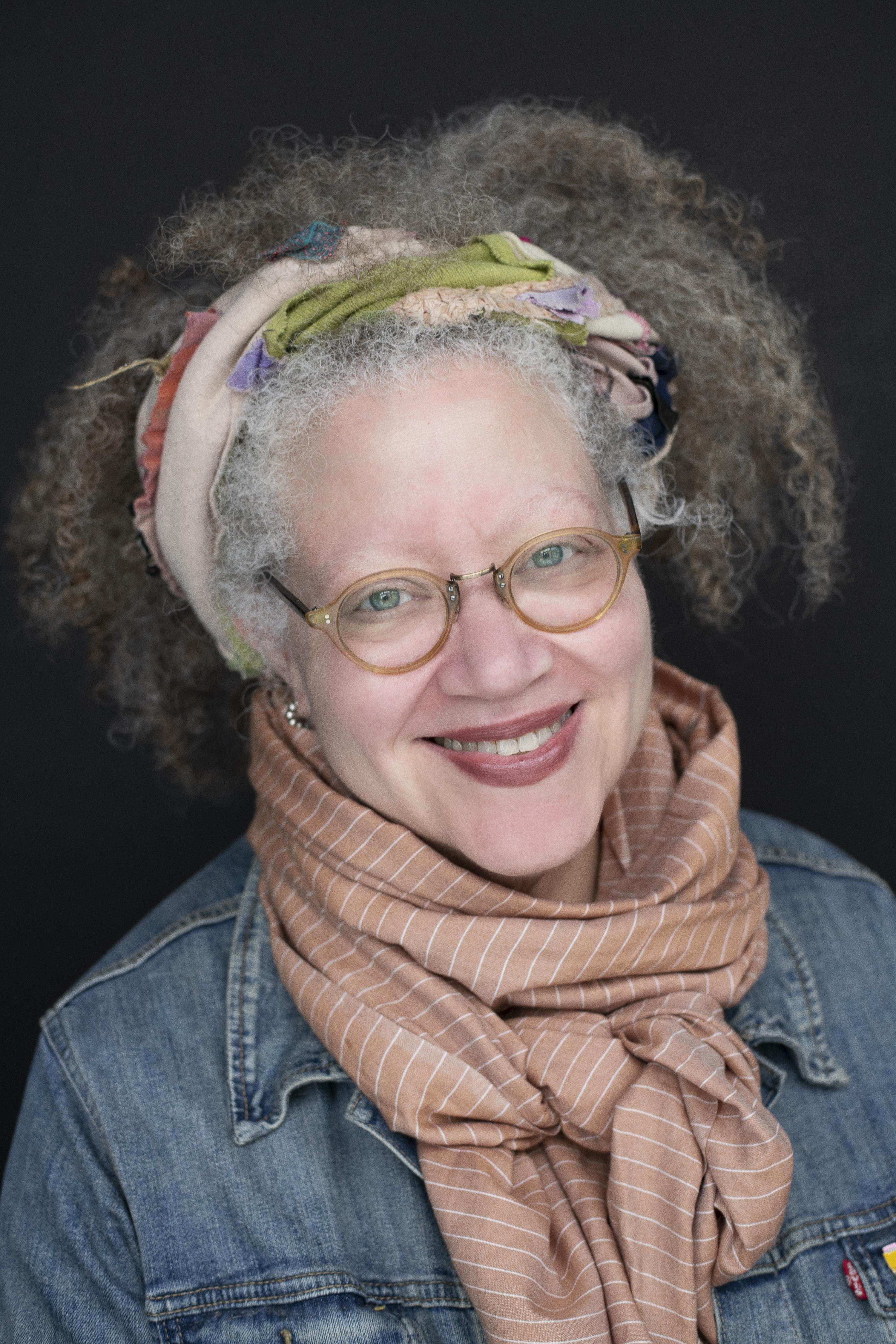 A color portrait of Gail Anderson.