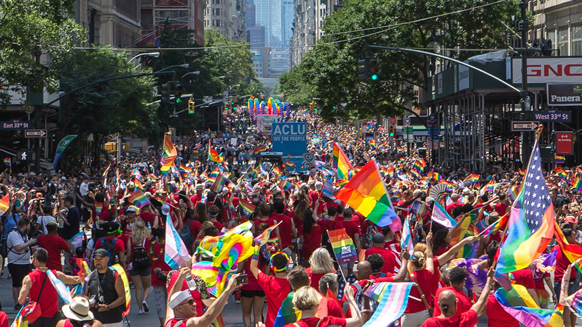 NYC Pride March. Photo by Christopher Gagliardi