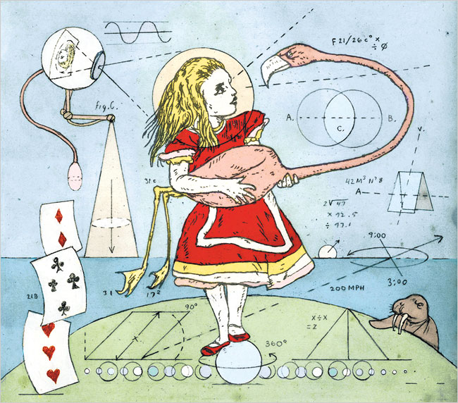 """Lewis Carroll in Numberland,"" 2009 by Jonathon Rosen<span class=""redactor-invisible-space"">.</span>"