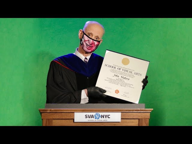 John Waters, SVA Commencement Speech 2020